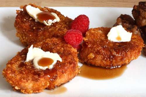 Cornflake French Toast - Vegan