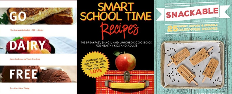 Instant e-Books for Dairy-Free Lunch Box Ideas, Recipes and Tips