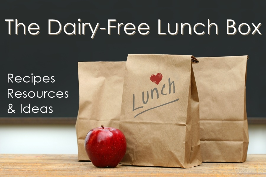 Dairy-Free Lunch Box Recipes, Resources and Ideas (Kid-Friendly!)