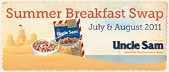 Attune Foods & Uncle Sam Summer Breakfast Swap - Dairy-Free