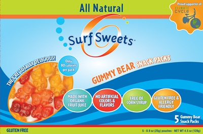 Surf Sweet Snack Packs - Gluten-Free, Dairy-Free