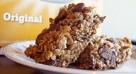 Homemade Chewy Chocolate Chip Granola Bars - Whole Grain / Whole Wheat