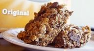 Homemade Chewy Chocolate Chip Granola Bars - Whole Grain / Whole Wheat