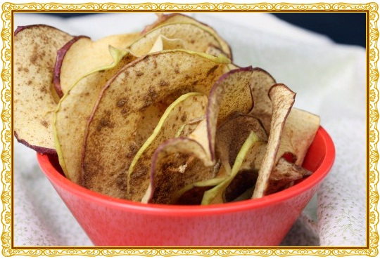 Raw Apple Cinnamon Chips