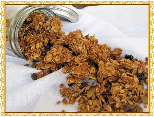 Gluten-Free and Dairy-Free Cinnamon Vanilla Granola