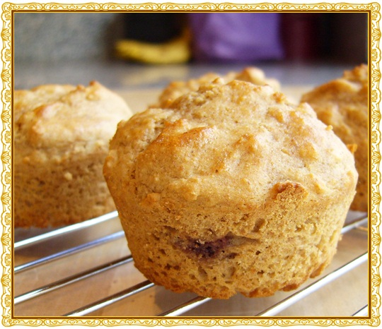 Jam Filled Snackin' Muffins