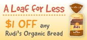 Rudi's Organic Bread Coupons