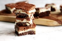 Vegan Nanaimo Bars Recipe - dairy-free, egg-free chocolate custard decadence! (gluten-free and soy-free options)