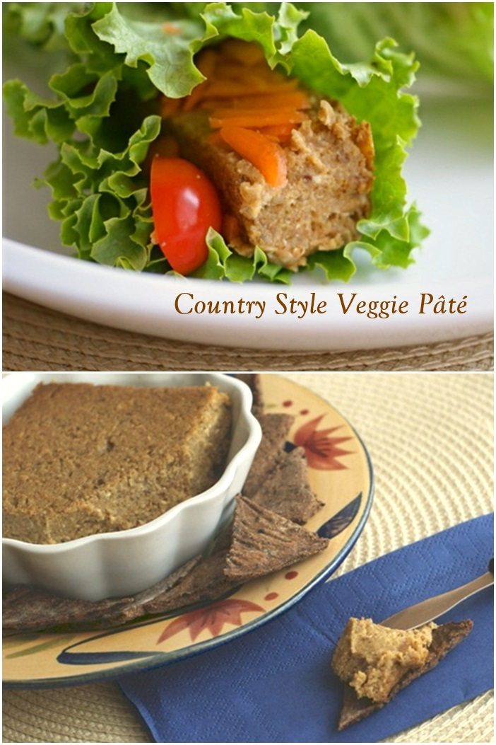 Country Style Veggie Pâté Recipe - Vegan, Plant-Based and oh-so-flavorful! Also gluten-free.