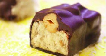 Cashew Joy Vegan Candy Bars Recipe - Gluten-Free & Dairy-Free