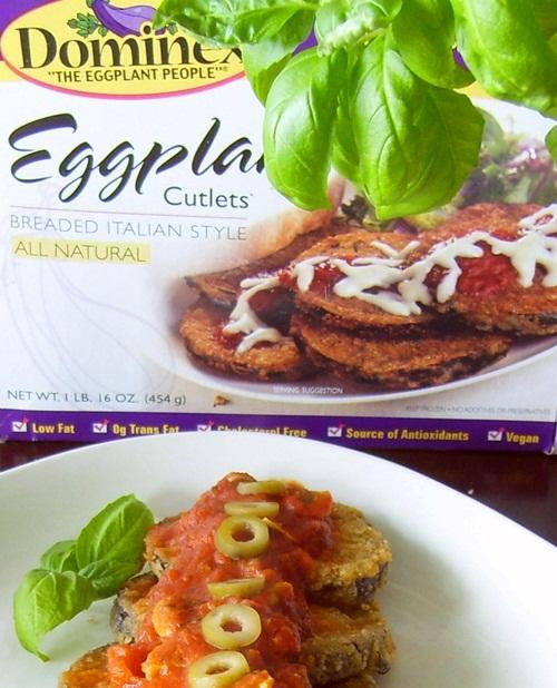 Dominex Vegan Eggplant Cutlets