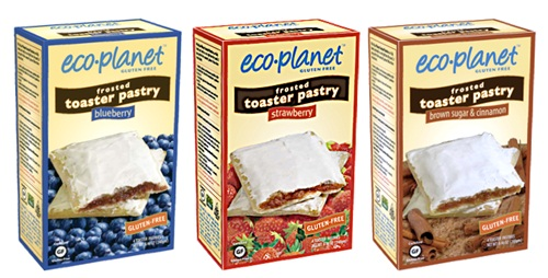 Eco-Planet Frosted Toaster Pastries - Gluten-Free, Dairy-Free, and Vegan