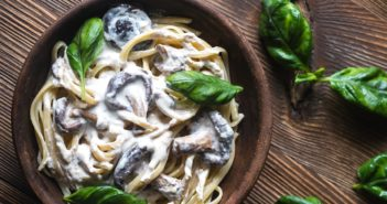Vegan Shiitake Cream Pasta Recipe