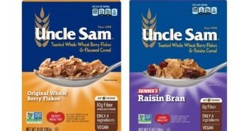 Uncle Sam Cereals Reviews and Info - dairy-free, nut-free, wholesome 100+ year tradition.
