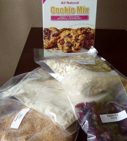 Vegan, Low Fat Pumpkin Cranberry Oatmeal Cookies