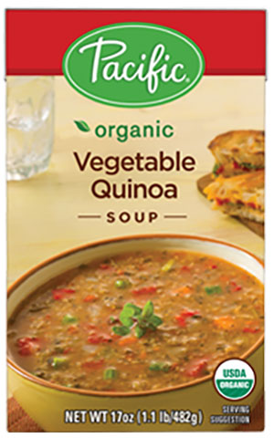 Pacific Foods Hearty Soups (review) - Hearty dairy-free soups made from wholesome ingredients.