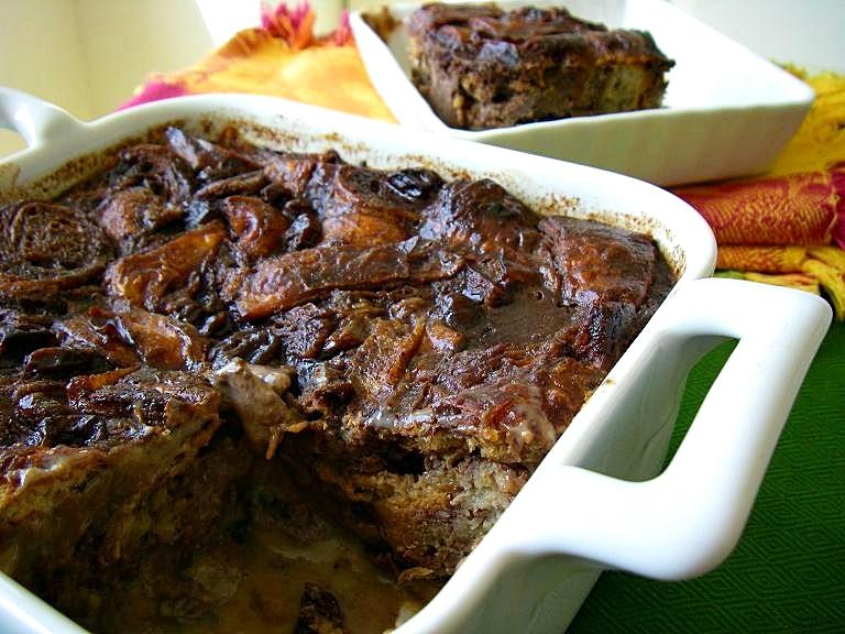 Dairy-Free Apple Cinnamon Bread Pudding Recipe with Gluten-Free Option