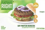 Eating Right Soy Burgers by Gardenburger