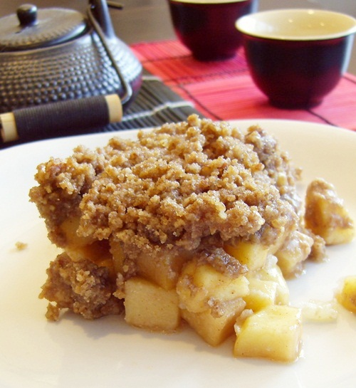 Maple-Pecan Apple Crisp
