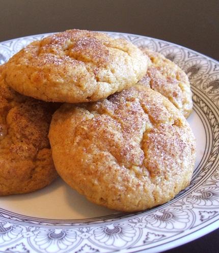 Maple Pumpkin Cookies adapted to make Cinnamon Sweet Potato Cookies