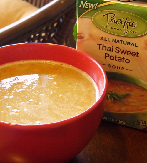 Pacific Foods Thai Sweet Potato Soup - Dairy-Free, Soy-Free, Vegan, and Gluten-Free