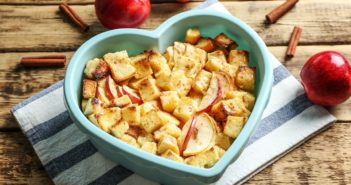 Slow Cooker Vegan Apple Cinnamon Bread Pudding Recipe with Gluten-Free Option