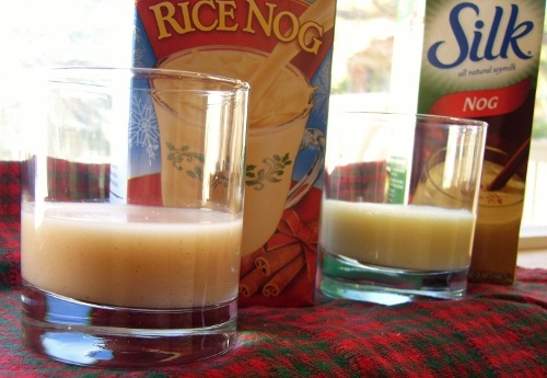 Vegan Rice and Soy Nog Comparison