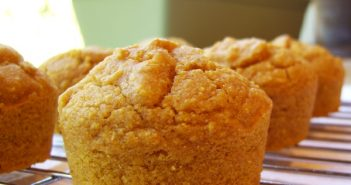 Dairy-Free Thanksgiving Recipes: Pumpkin Cornbread Muffins