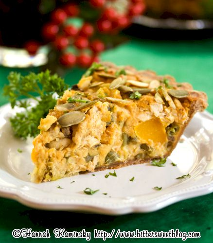 Thanksgiving Leftovers Recipes: Vegan Thanksgiving Quiche