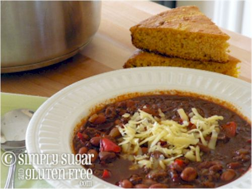 Thanksgiving Leftovers Recipes: Spicy 'n Sweet Turkey Pinto Bean Chili
