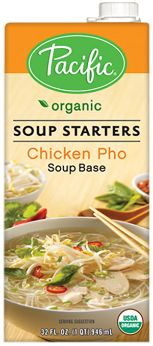 Pacific Foods Organic Soup Starters Pho Broths In Traditional Beef