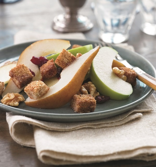 Recipes for Dairy-Free Holiday Dinners: Rustic Fruit Salad