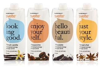 Svelte Organic Soy Protein Shakes 325