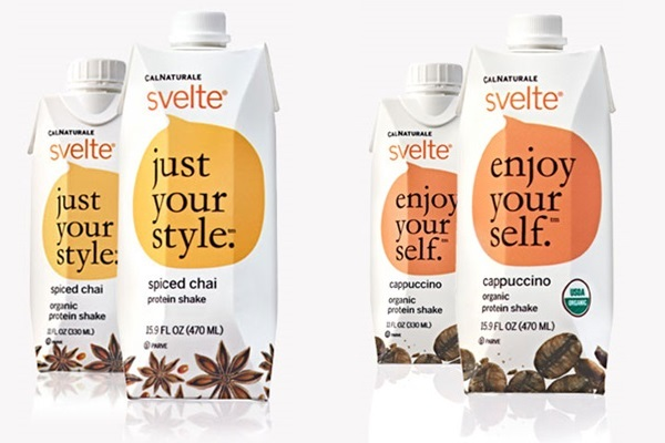 Svelte Spiced Chai and Cappucchino Soy Protein Shakes
