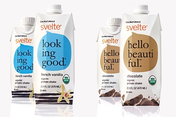 Svelte Vanilla and Chocolate Soy Protein Shakes