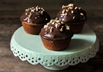 Chocolate Pecan Muffins from Hearty Vegan