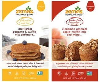 Zemas Madhouse Foods Ancient Grain Gluten-Free Baking Mixes