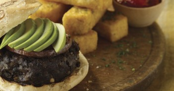 Candle 79's Famous Black Bean Chipotle Vegan Burgers - a healthy recipe from a popular vegan restaurant!