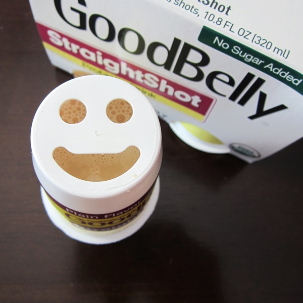 GoodBelly StraightShot Probiotic Drink - Dairy-Free, Vegan, Soy-Free, No Sugar Added, and 20 Billion Live & Active Probiotic Cultures!