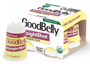 GoodBelly StraightShot Dairy-Free Probiotic Drink