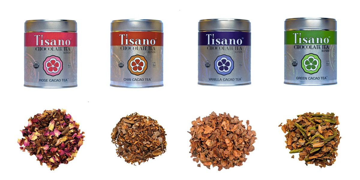 Tisano Cacao Tea (Review) - Several antioxidant-rich, dairy-free, chocolate blends