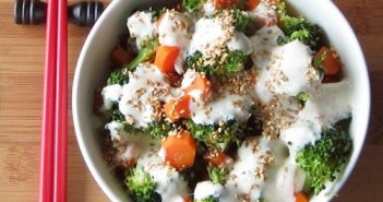 Creamy Low-Fat Sesame Ginger Salad Dressing Recipe