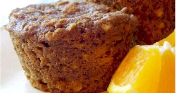 Vegan Orange Oat Muffins Recipe