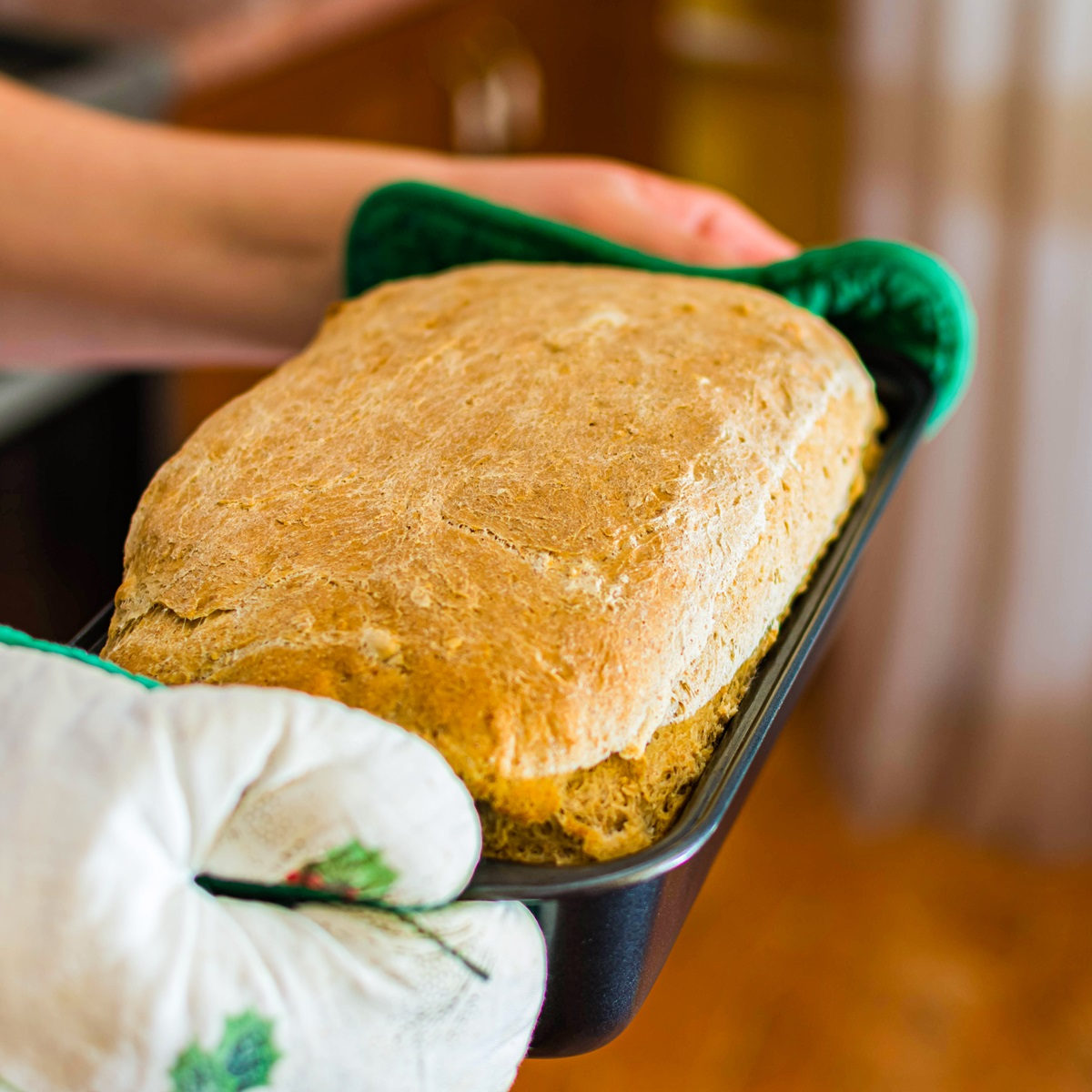 Dairy-Free Sour Cream Bread Recipe with Bread Machine Option - tender, tangy, and delicious. Vegan-friendly