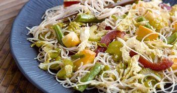 Rice Noodle & Vegetable Stir-Fry Recipe