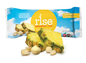Rise Bar - protein bars made from real food and 5 ingredients or less!