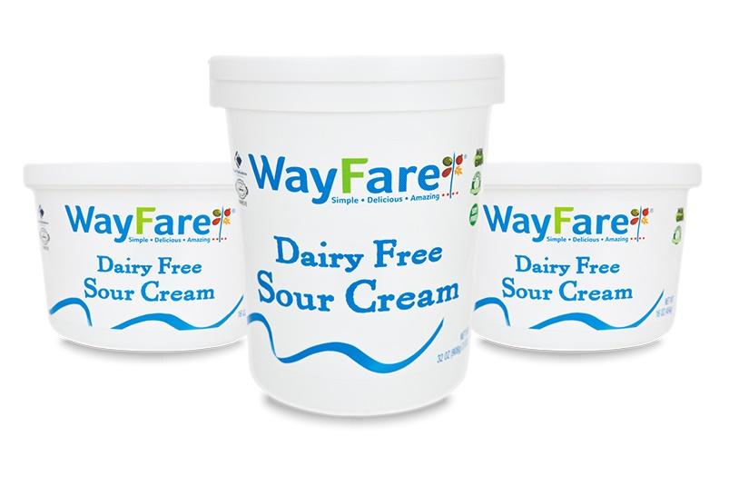 Wayfare Dairy Free Sour Cream (vegan, gluten-free, soy-free and nut-free)
