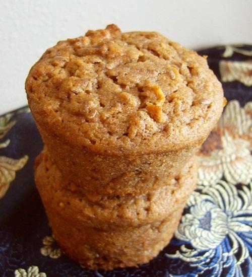 Cinnamon Raisin 100% Whole Wheat Muffins Recipe