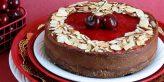 Robin's Cherry Chocolate Cheesecake