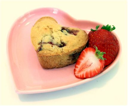 Vegan Valentine Recipes: My Sweet Vegan Love Muffins